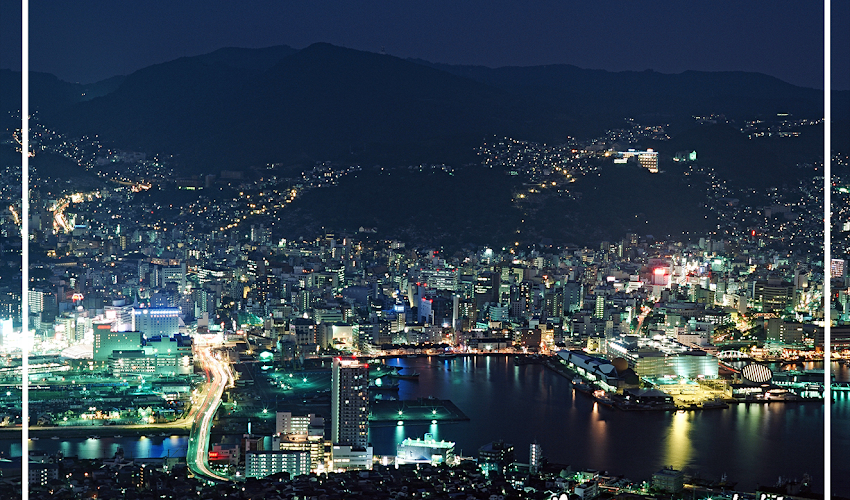 Nagasaki's 7 Illuminated Beauty