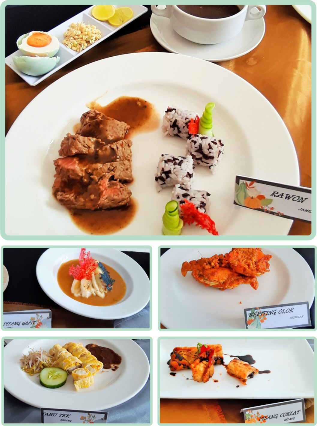 Ujian Praktek Indonesian Food Akademi Pariwisata Majapahit