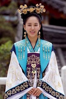 Park Joo-Mi at The Last Princess Drama Series