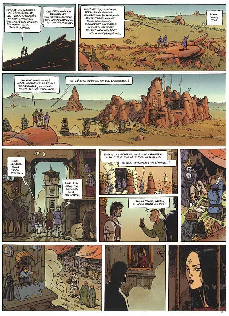 Ciclo Tschai comic