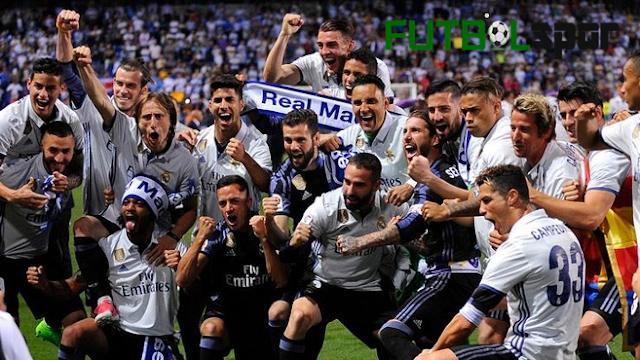 2016-2017 sezonunun şampiyonu Real Madrid