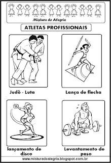 atletas profissionais-diversos esportes