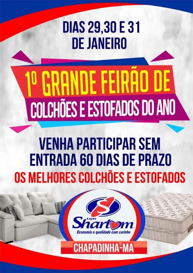 VENHA  PARTICIPAR DO FEIRÃO DE COLCHÕES E ESTOFADO NA SHARLOM MÓVEIS.
