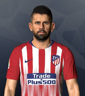 PES 2017 Faces Diego Costa by Ben Hossam FaceMaker