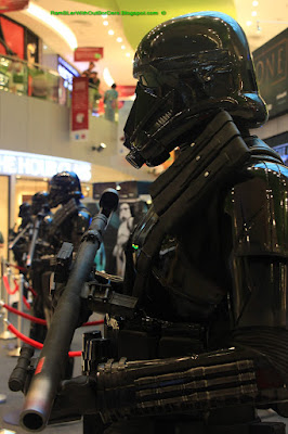 Imperial Stormtrooper, Star Wars mechandise, Vivocity, Singapore