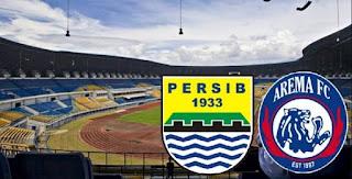 Harga Tiket Persib vs Arema Turun Jadi 50 - 200 Ribu