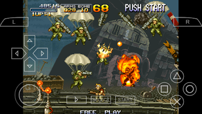 Metal Slug Anthology for Android PPSSPP ISO