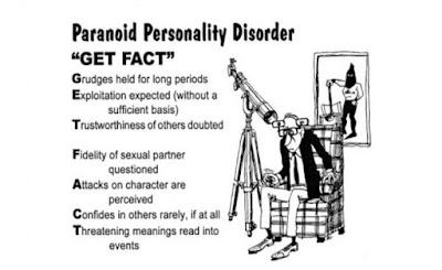 Характеристики человека при параноидном расстройстве личности