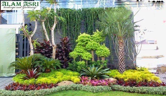 Desain Taman Minimalis Depan Rumah Surabaya