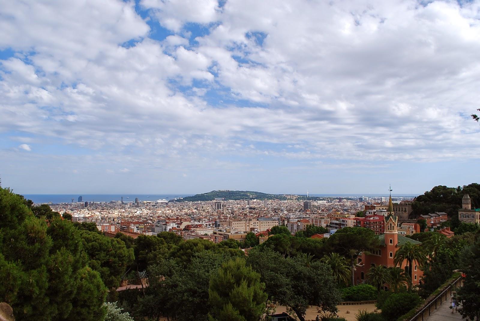 Парк Гуэля, Барселона, Испания/ Parque Güell, Barcelona, Catalonia, Spain