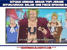 Situasi Armada Besar Topi Jerami ditunjukkan dalam One Piece Episode 885!