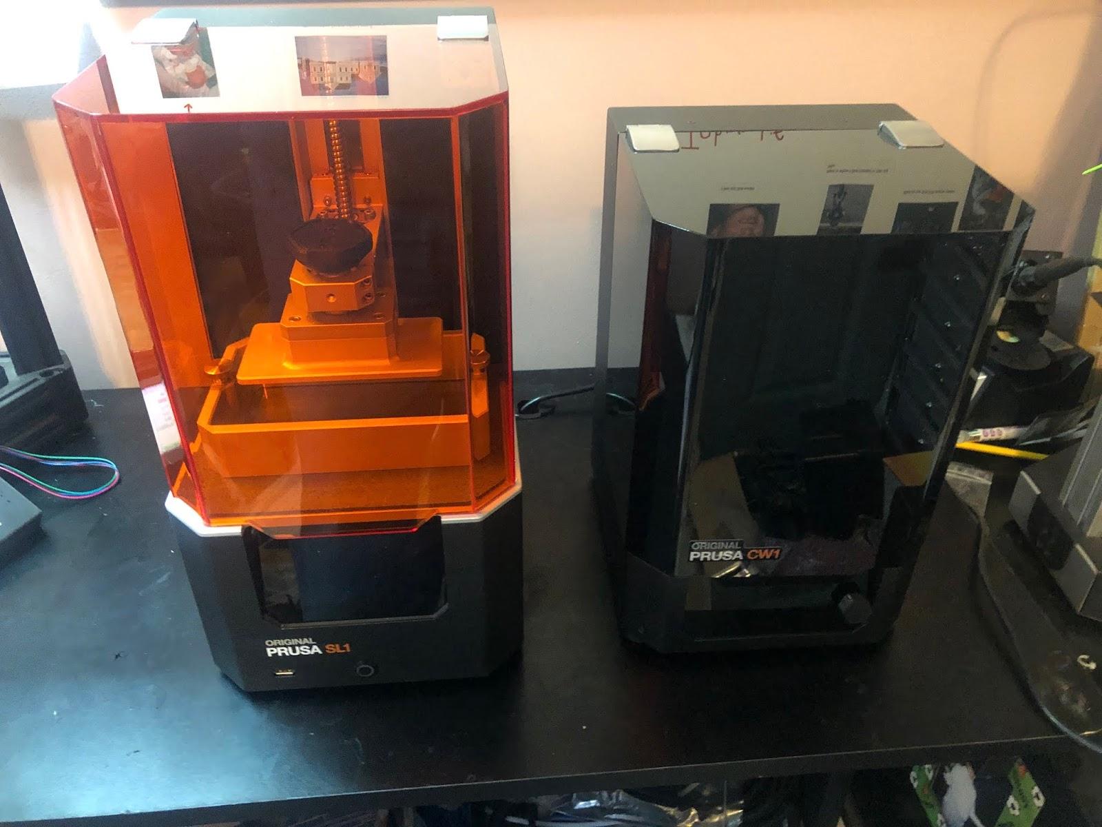 48 Hrs with the new Prusa SL1 SLA Printer!   Sublime Layers