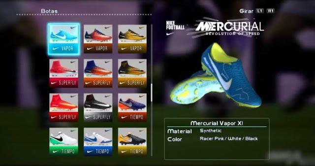 Nike Mercurial Vapor XI Neymar Boots PES 2013
