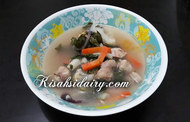 sup sayur ayam