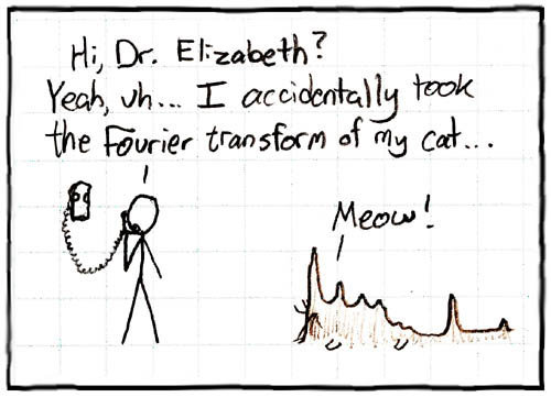Physics as a Second Language: Physics Cartoons