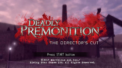 Press Start - Deadly Premonition: The Director's Cut