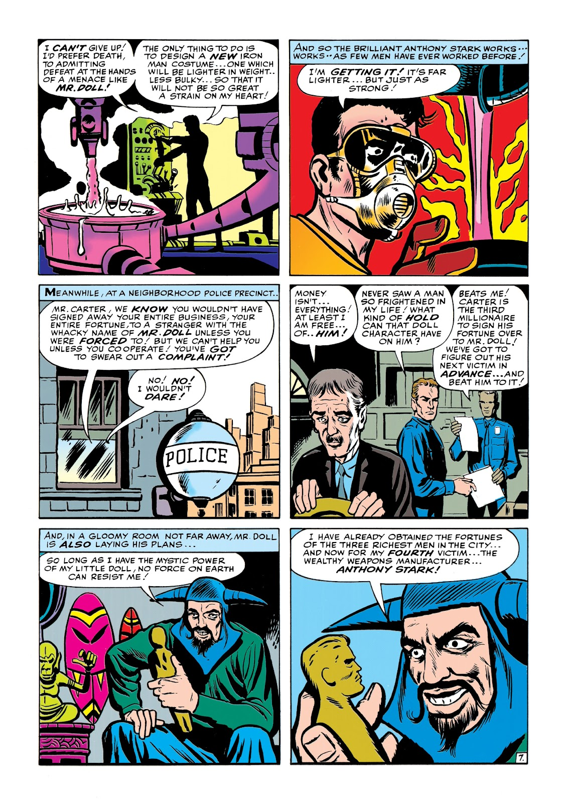 Read online Marvel Masterworks: The Invincible Iron Man comic -  Issue # TPB 1 (Part 2) - 46