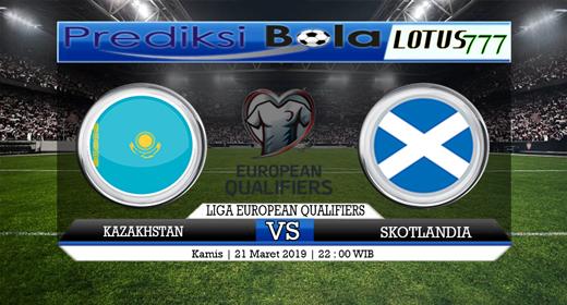 Prediksi Kazakhstan vs Skotlandia 21 Maret 2019