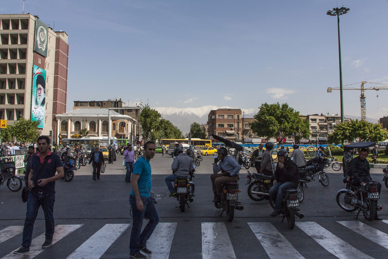 strada di Teheran
