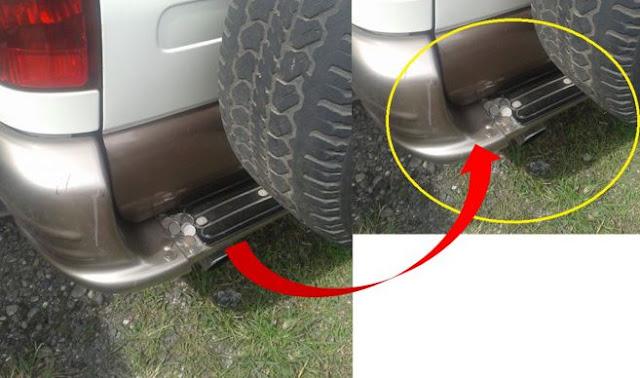 Hati-hati! Modus Baru Perampokan Kendaraan, Menaruh Koin di Belakang Mobil