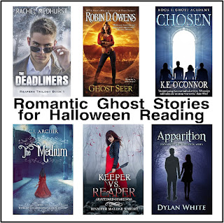 Celebrate Halloween with a few Romantic Ghost Stories.  You will love adding these 13 ghost stories to your TBR list and enjoying them anytime of the year.