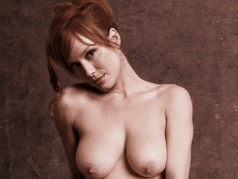 christina hendricks toples
