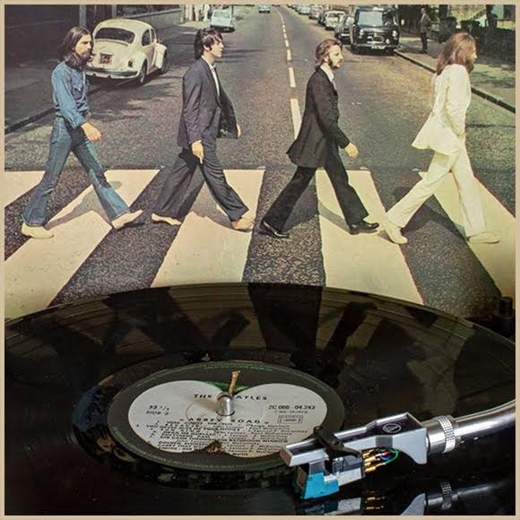 L'album «Abbey Road» des Beatles de nouveau en tête du hit-parade