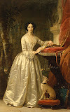 Portrait of Grand Duchess Maria Alexandrovna by Christina Robertson - Portrait Paintings from Hermitage Museum