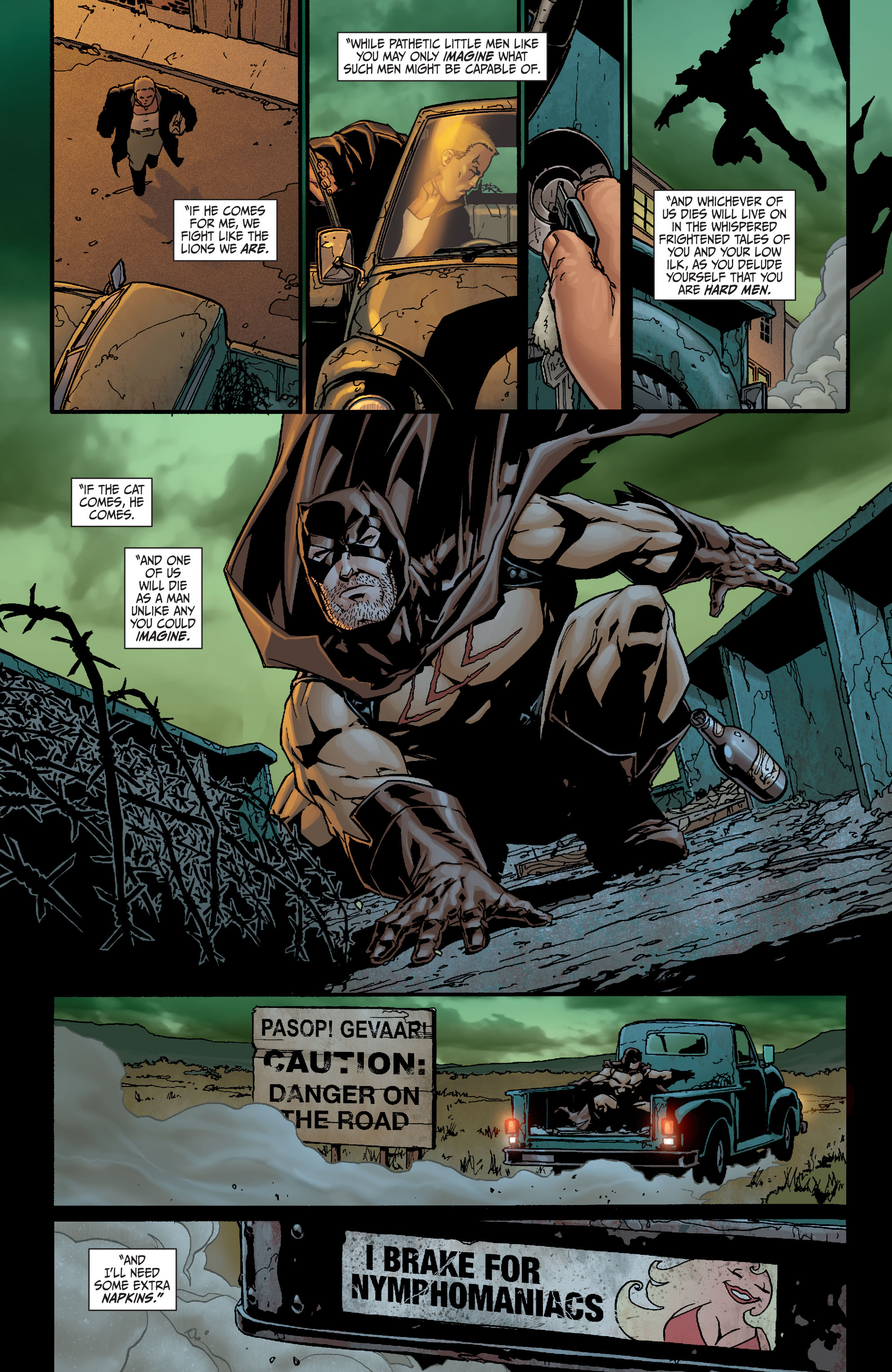 Read online Secret Six (2008) comic -  Issue #21 - 15