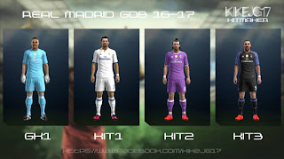 Real Madrid Kits 2016-2017 Pes 2013 By Kikejg17