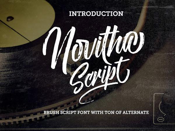Download Novitha Modern Script Font Free