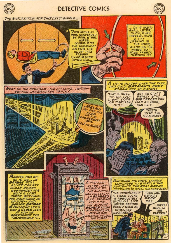 Read online Detective Comics (1937) comic -  Issue #207 - 11
