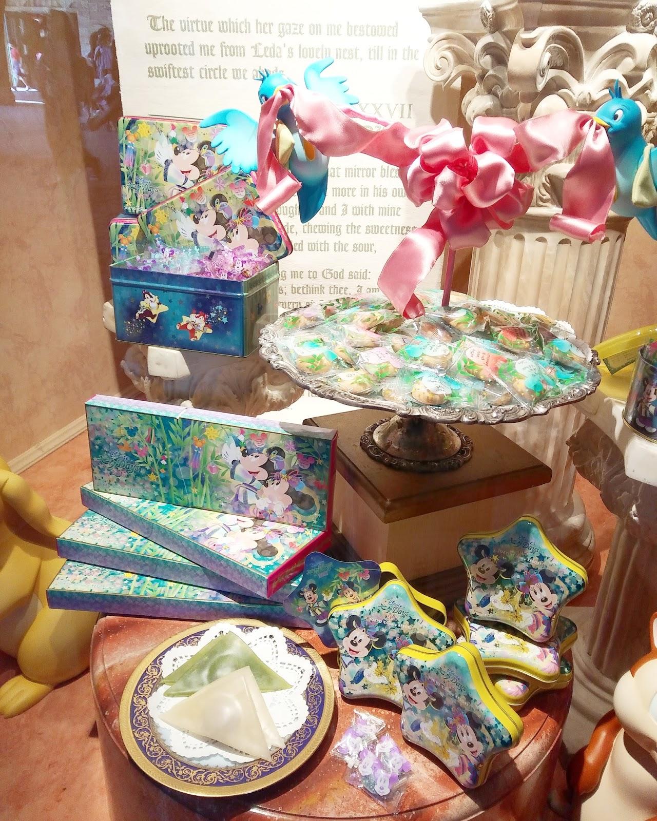 ディズニーファンdのtdrグッズブログ☆: ディズニー七夕デイズ2017お菓子