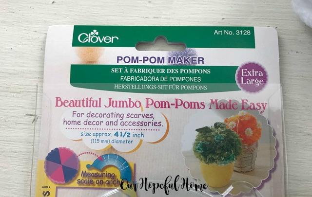 Clover pom pom maker extra large