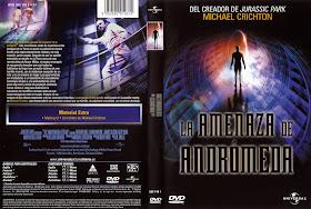 Carátula de La amenaza de Andrómeda
