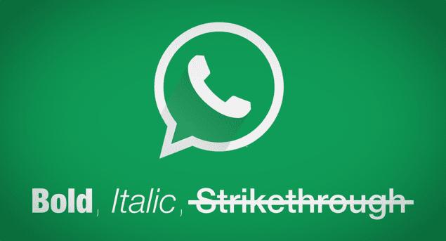 Cara Bikin Teks Jadi Tebal Miring dan Dicoret di WhatsApp