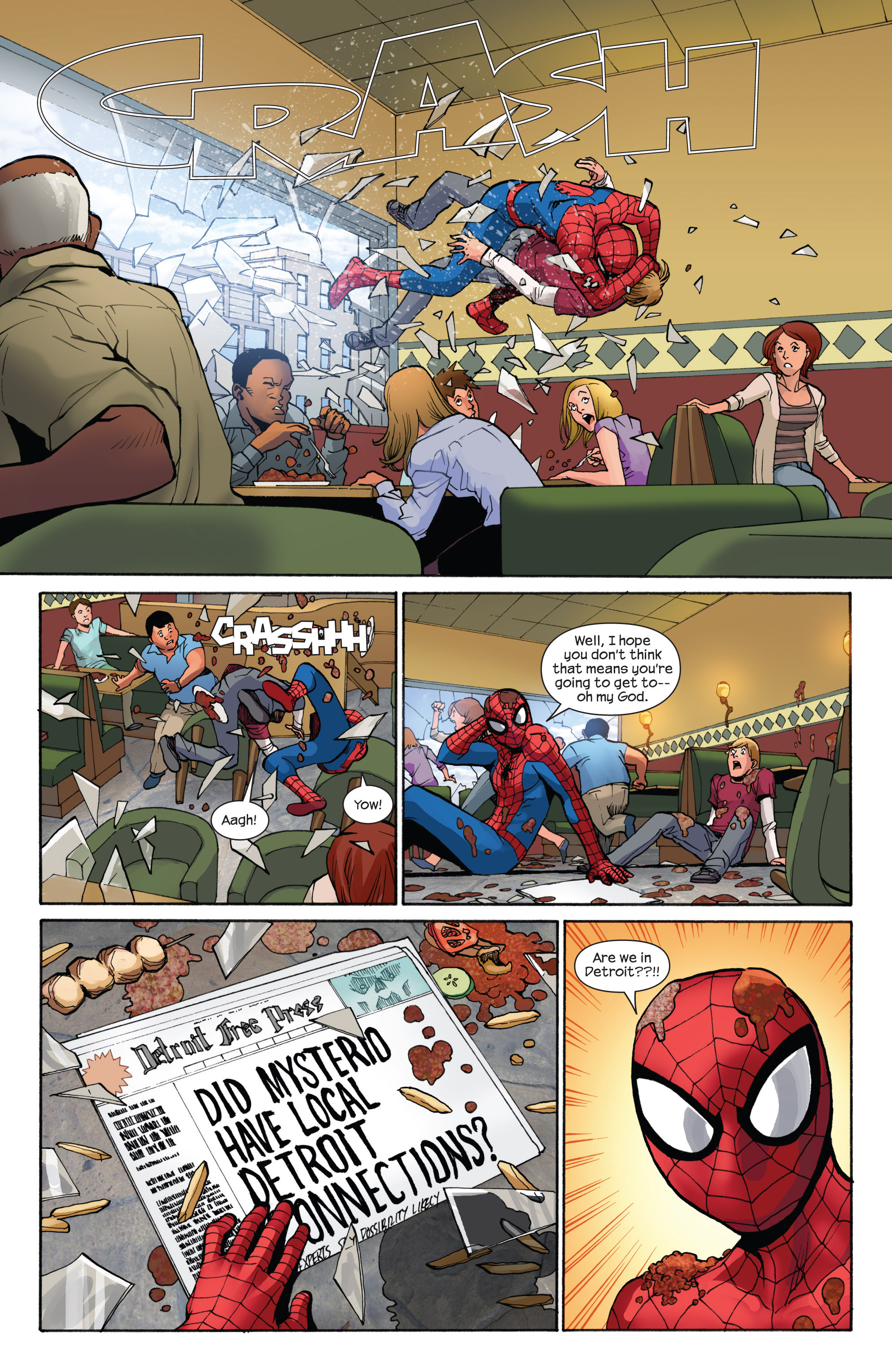 Read online Ultimate Spider-Man (2009) comic -  Issue #7 - 18