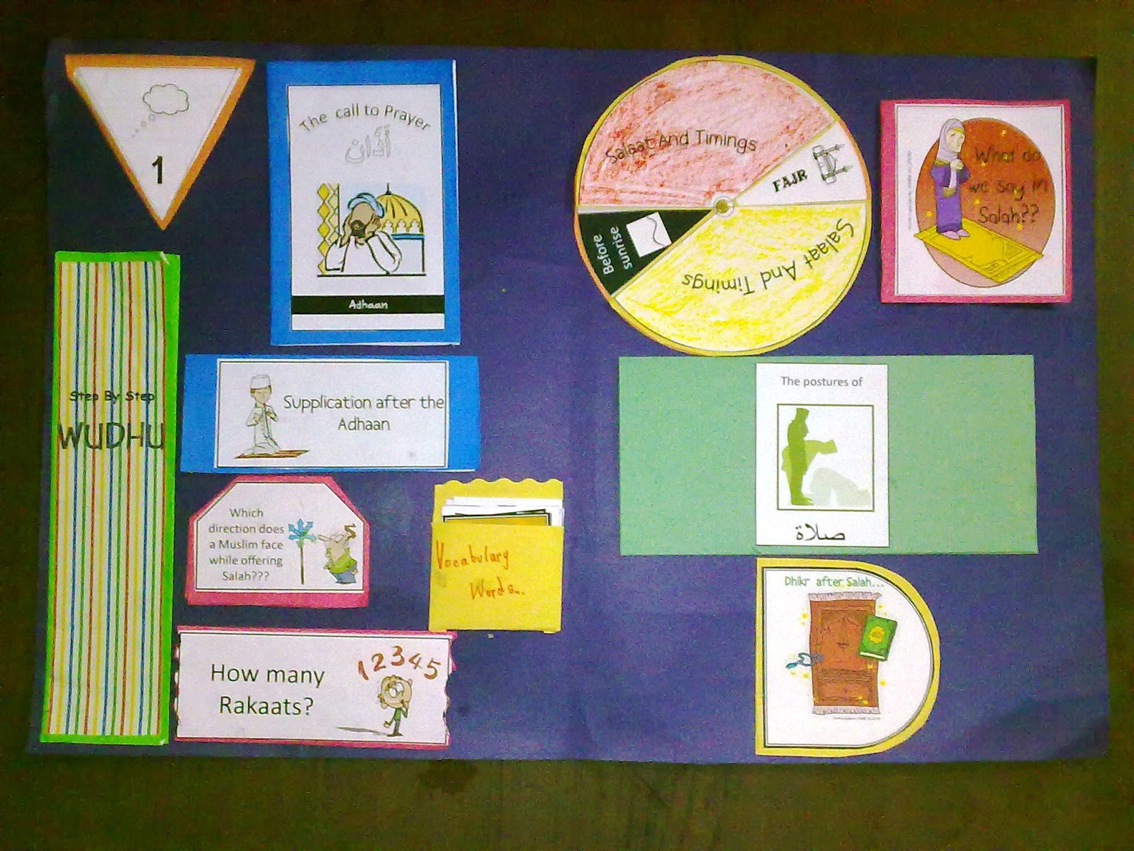 Iman S Home School Salah Lapbook