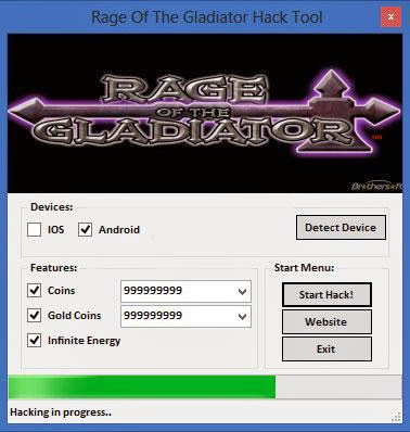 Download Free Rage Of The Gladiator (All Versions) Hack Unlimited Coins,Gold,Energy 100% working and Tested for IOS and Android MOD.