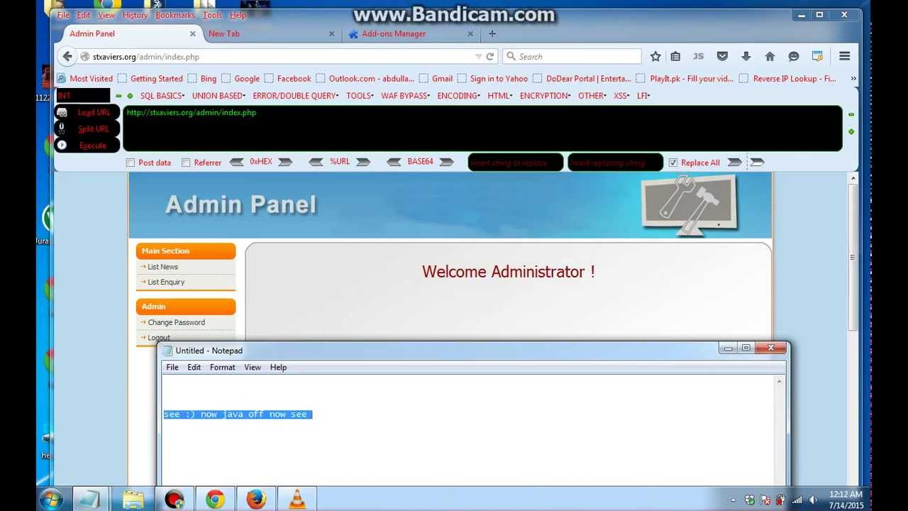 Bypass Website Admin Panel Using No_Redirection - Cyber
