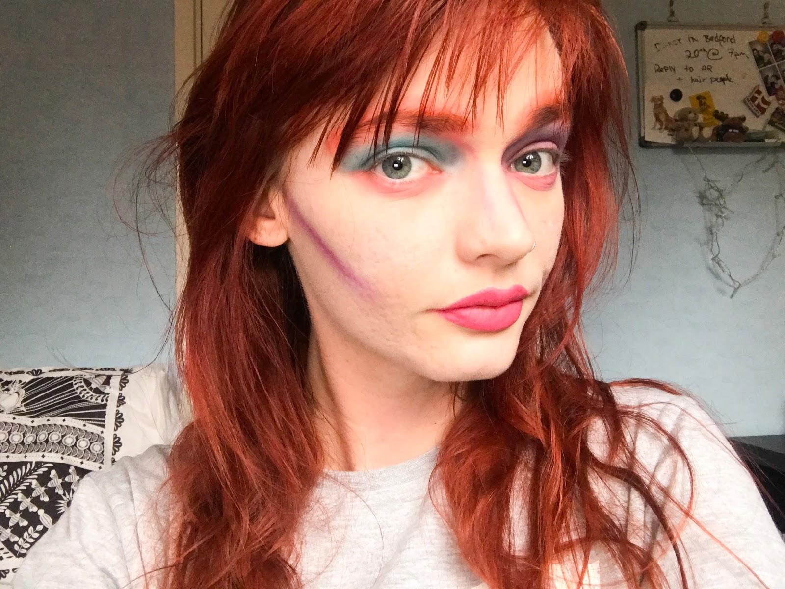 Mad Hatter Inspired Makeup Lucy Elizabeth
