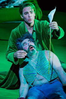 Britten: A Midsummer Night's Dream - Christopher Ainslie, Miltos Yeromelou - English National Opera (Photo Robert Workman)