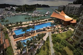 Singapur Edificio Moderno