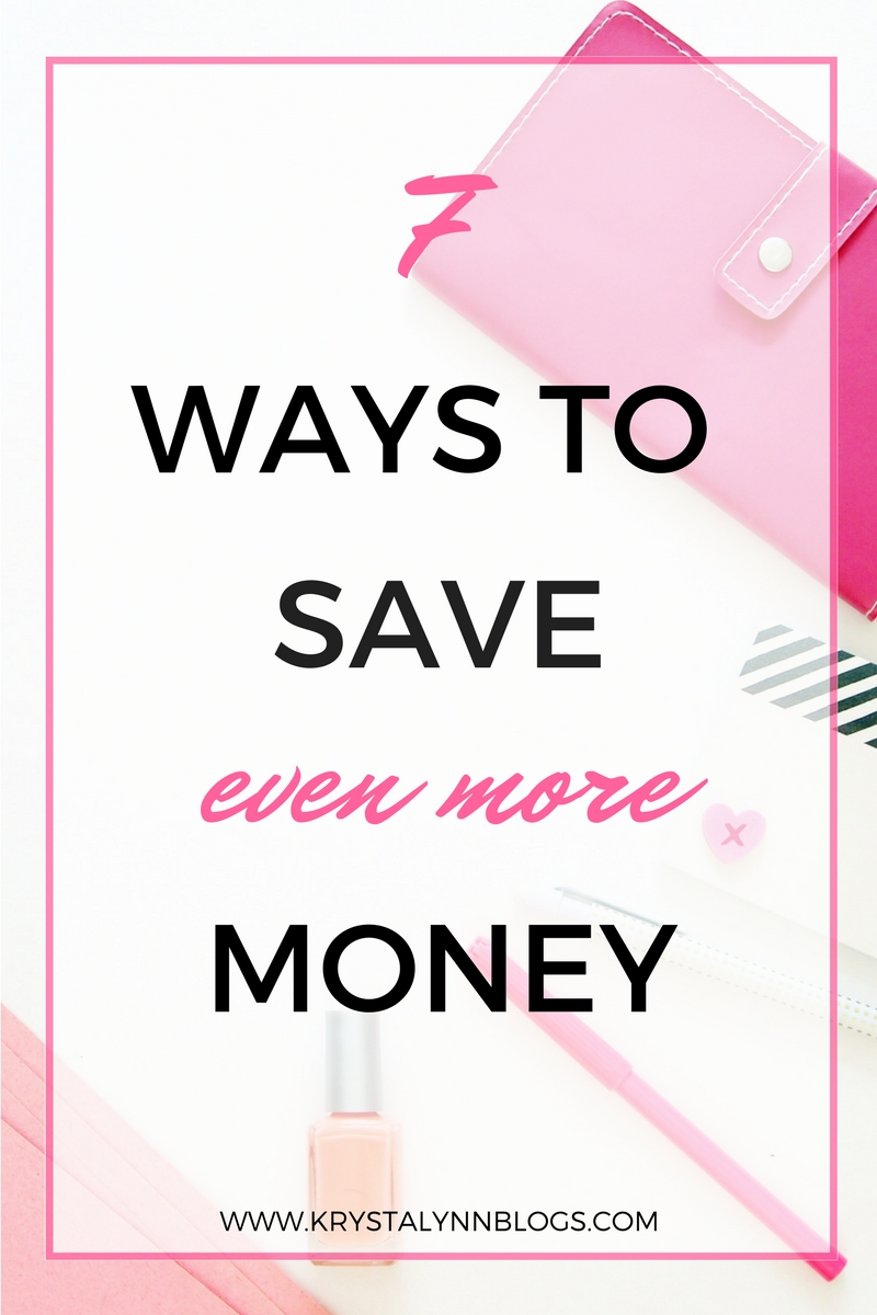 Adulting is expensive. There's always something to spend money on. It's just a fact of life. Click to read my list of 7 painless and easy ways to save even more money.