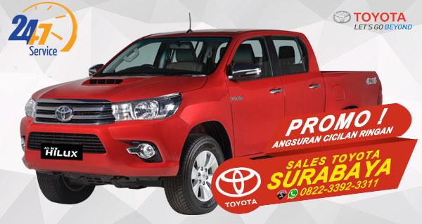 Promo Angsuran Cicilan Ringan Toyota Hilux D-Cab Surabaya