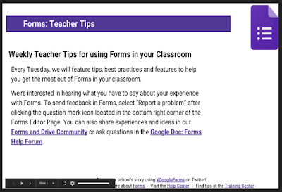 Crowd-Sourced Tips For Using Google Forms Inward Teaching