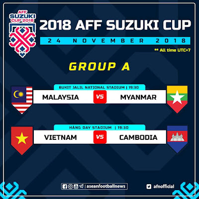Live Streaming Vietnam vs Cambodia AFF SUZUKI 24.11.2018