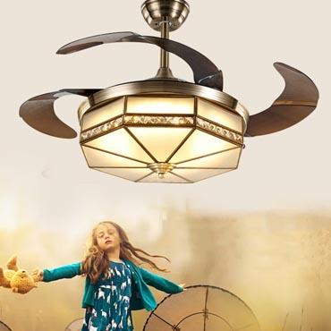 Đèn quạt trần là gì? Vì sao nên sử dụng đèn quạt trần Lightfan cho không gian nội thất nhà bạn