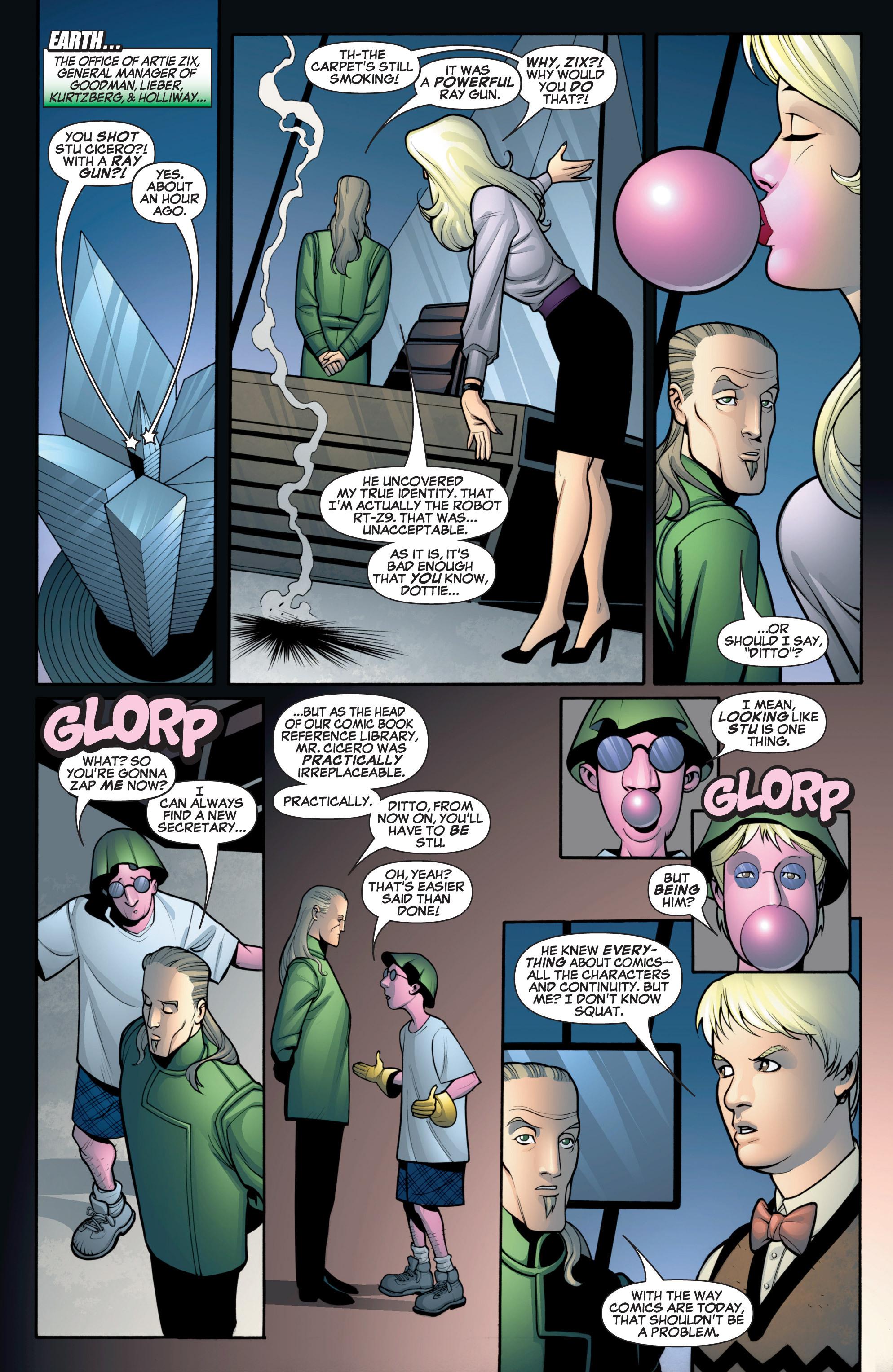Read online She-Hulk (2005) comic -  Issue #12 - 4