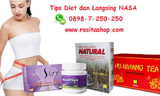 Tips Diet Langsing Produk Nasa